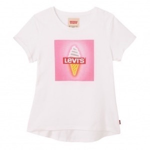 Levi's Kids - Girls Mimi T-shirt SS, White