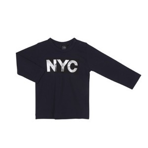 Petit By Sofie Schnoor - NYC T-shirt LS, Dark Blue