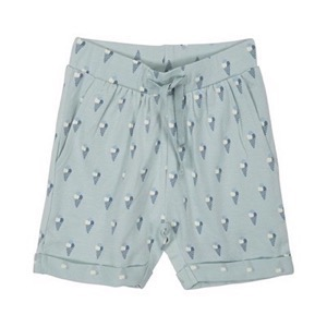 Petit By Sofie Schnoor - Shorts Season Basic 2, AOP Green Ice
