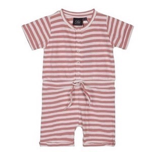 Petit By Sofie Schnoor - Jumpsuit Petrine, Pink Off White Stripe
