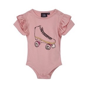 Petit By Sofie Schnoor - Body SS - Dicte, Rose
