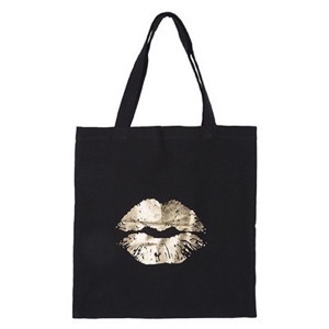 Petit By Sofie Schnoor - Totebag Big Lips, Black