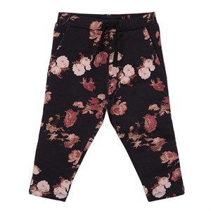 Petit By Sofie Schnoor - Sweat Pants Estralla, AOP Flower BLK