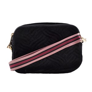 Petit By Sofie Schnoor - Cross Bag Feline Velvet, Black