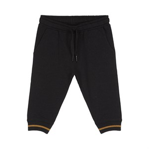 Petit By Sofie Schnoor - Elias Sweatpants. Black Melange