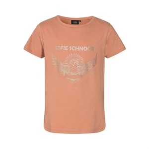 Petit By Sofie Schnoor - Felina T-shirt, Rosy Camel