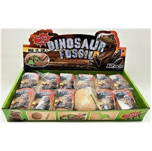 Amo Toys - Glow In The Dark Dinosaur Fossil Egg