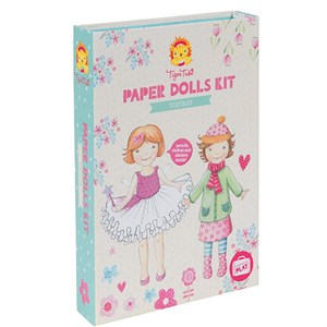 Tiger Tribe - Paper Dolls Kits - Vintage