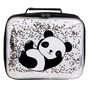 A Little Lovely Company - Cool Bag, Glitter Panda