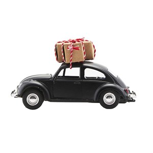 House Doctor - Dekoration - Xmas car, Sort l: 12.5 cm