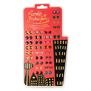 Great Pretenders - Superhero Ørering Stickers - 30 Par