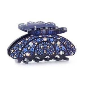 Höjtryk - Hair Clips The Up Model w/Stones, Navy