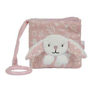 Little Dutch - Activity Soft Book Rabbit, Pink