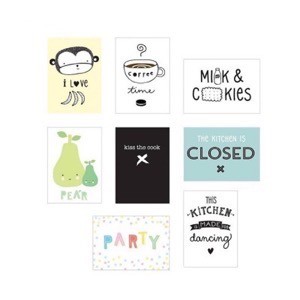A Little Lovely Company - Lightbox Posterark - Kitchen