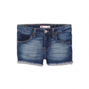 Levi's Kids - Girls Moldu Shorts, Indigo