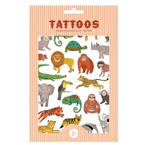 Petit Monkey - Tattoos, Jungle Animals