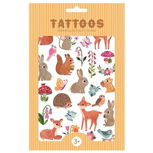 Petit Monkey - Tattoos, Woodland Friends